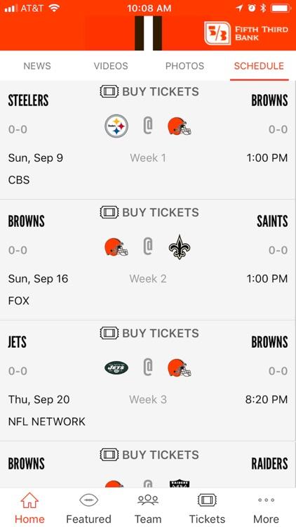 Cleveland Browns screenshot-3