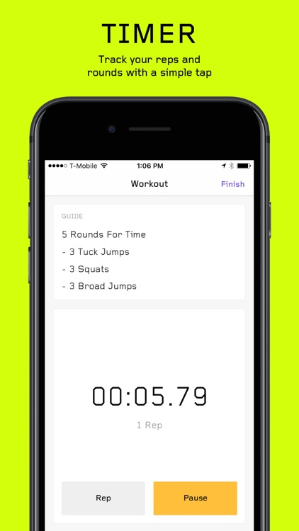 WOD - Travel Wod Generator for HIIT Workouts