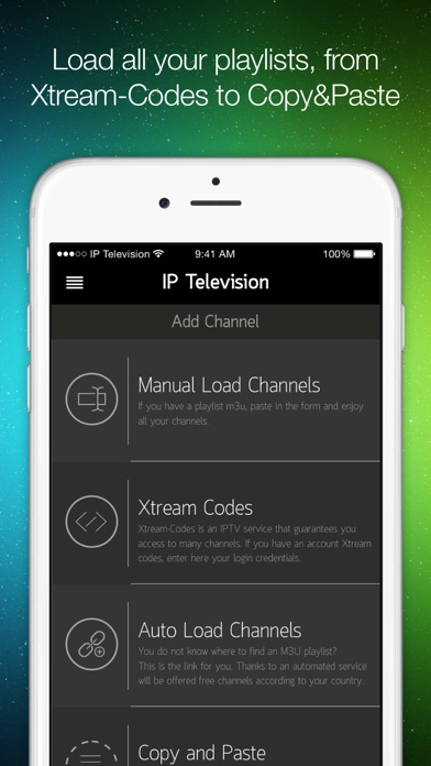 IP Television - IPTV M3U Screenshots