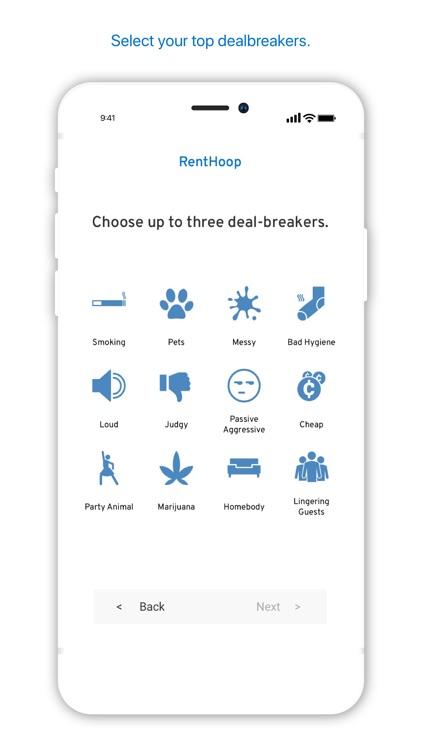 RentHoop - Roommate Finder screenshot-3