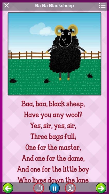 Nursery rhyme for kids screenshot-3