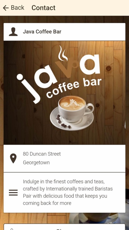 Java Coffee Bar screenshot-4