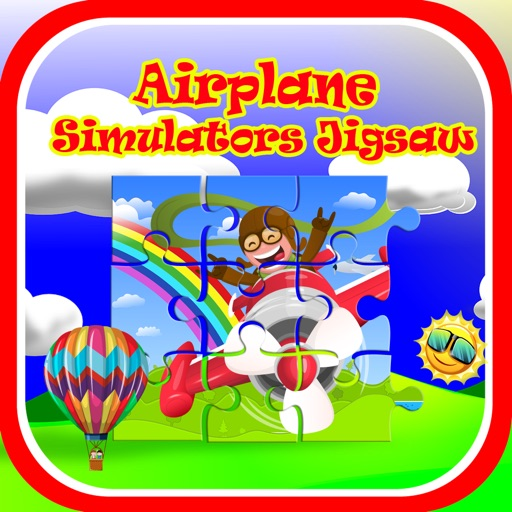 Airplane Simulator Jigsaw Game