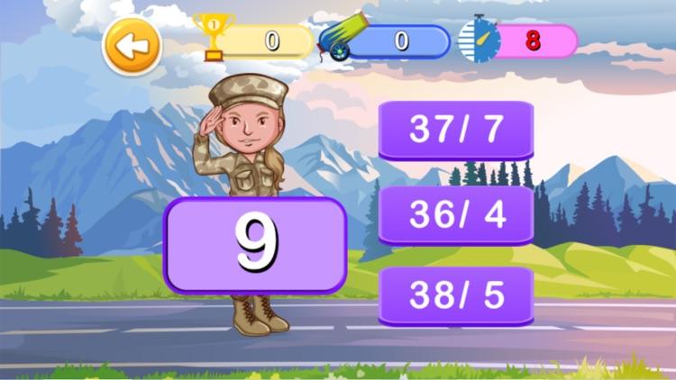 Math 3rd : Math Of Army screenshot-5