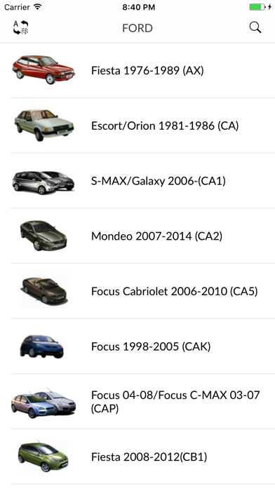 Screenshot for Car parts for Ford in Kazakhstan App Store