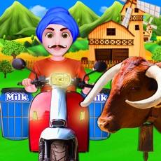 Activities of Dairy Cow milk Factory Farm
