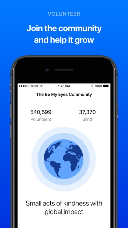Be My Eyes – Helping the blind