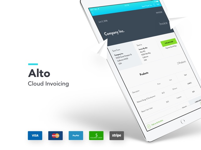 Invoice By Alto - Invoicing Screenshot