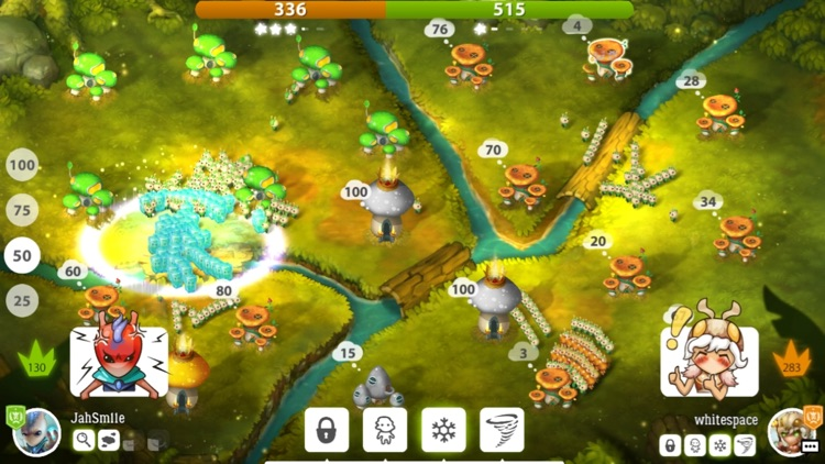 Mushroom Wars 2 – Heroic RTS screenshot-0