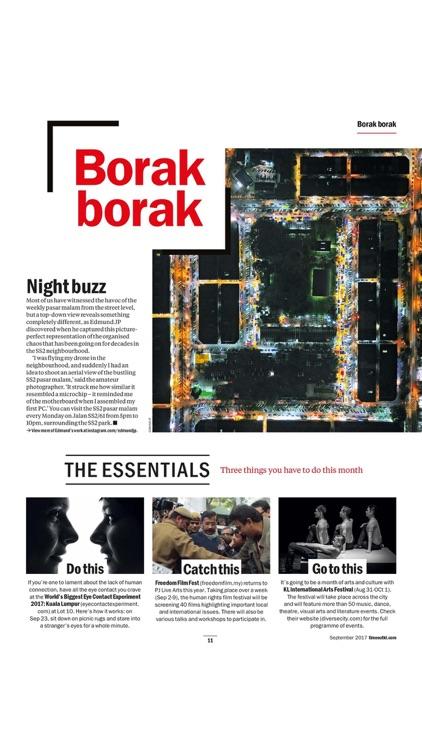 Time Out Kuala Lumpur Magazine