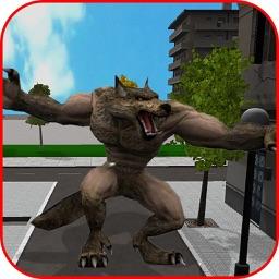 Werewolf Terror In City