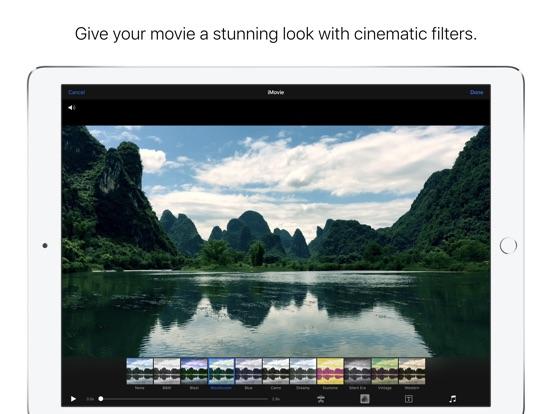 App Store Screenshot of iMovie
