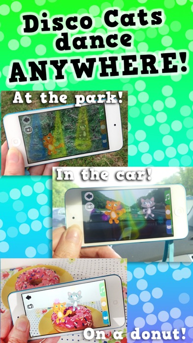 Disco Cats Augmented Reality screenshot two