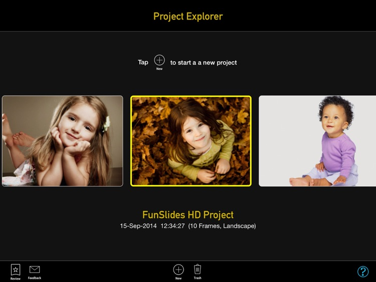 FunSlides HD - Make HD video from photos