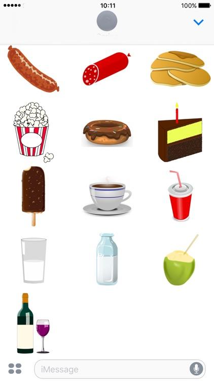 Food & Drink Stickers screenshot-4