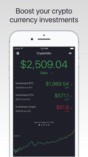 Cryptofolio #1 Screenshot
