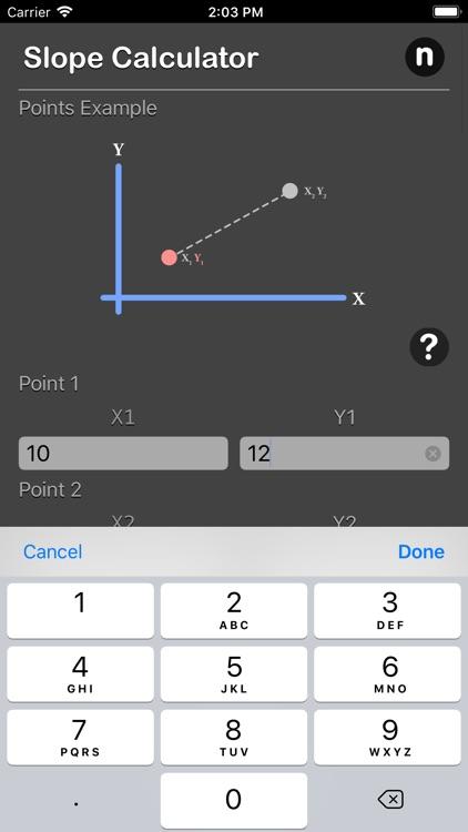 Slope Calculator Plus