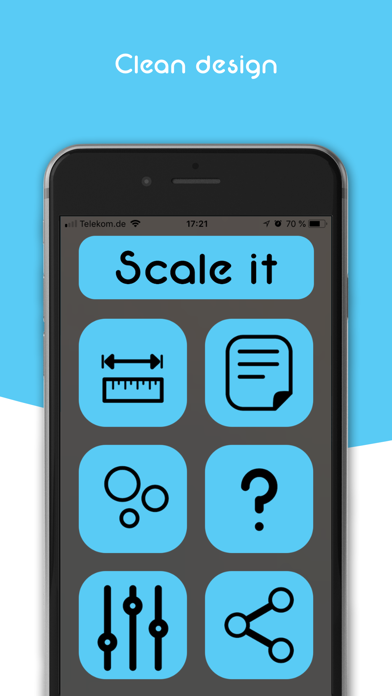 Scale it - AR tool screenshot one
