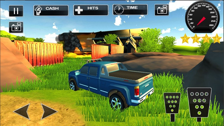 4x4 Offroad Jeep Parking