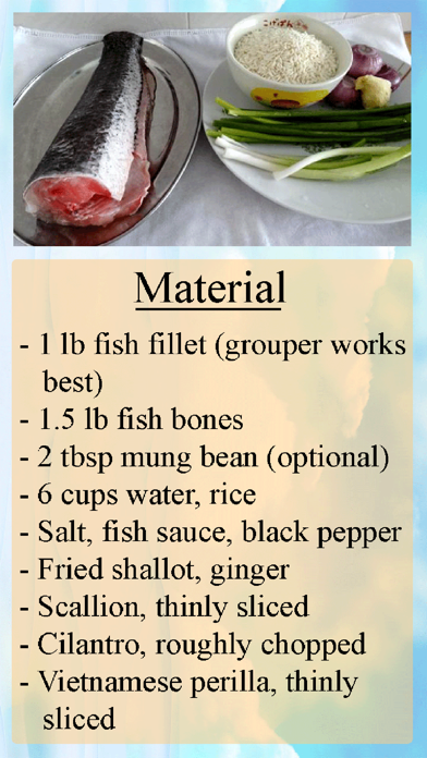 Congee Home Recipe
