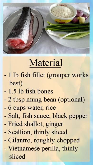 Congee Home Recipe screenshot one