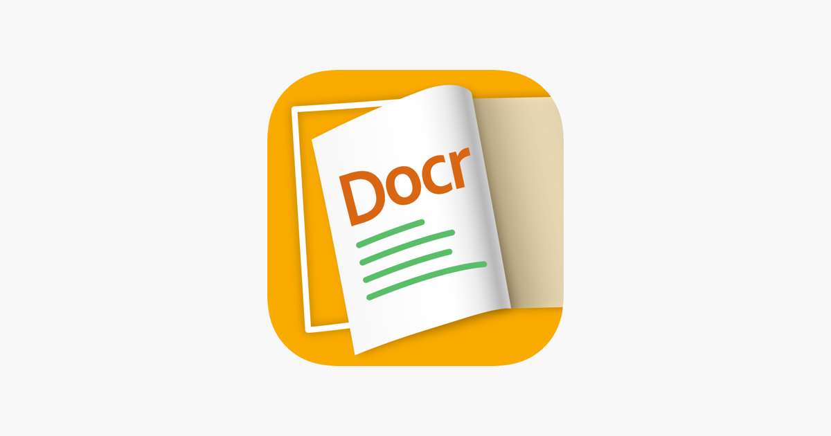 Docr - Book Scanner to PDF Doc on the App Store