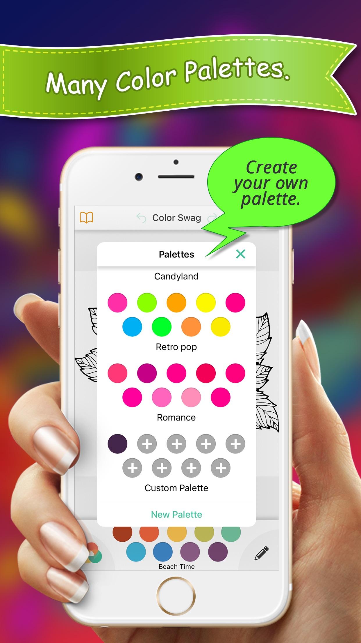 Color Swag - Coloring Book Screenshot