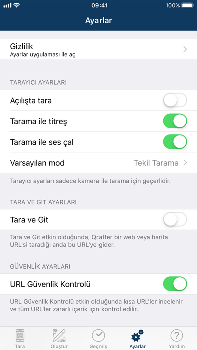 Screenshot for Qrafter Pro - QR Kod in Turkey App Store