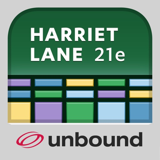 Harriet Lane Handbook: 21st ed icon