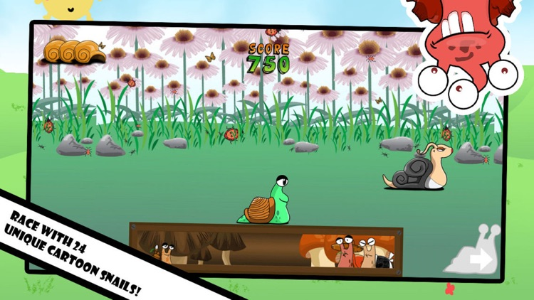 Snail Race: Fun Racing Games screenshot-4
