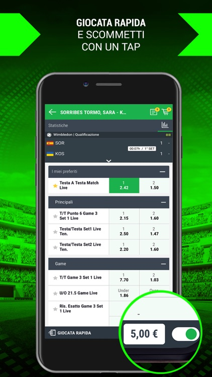 Better Scommesse Sportive Live screenshot-2