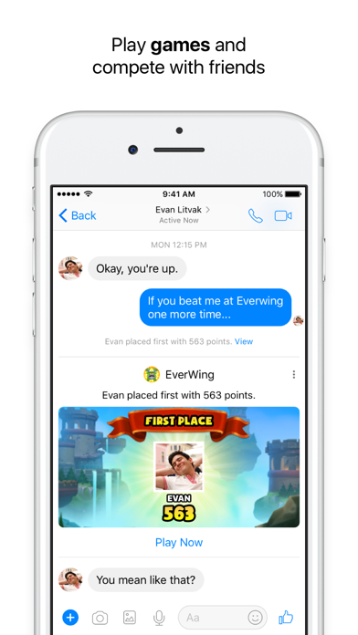 Image of Messenger for iPhone