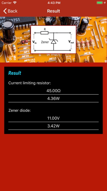 Limiting Resistor Calculator by Catherine Spear