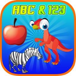 ABC 123 Phonics Spell Tracing