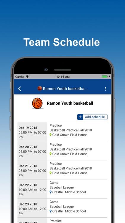 SportsPlus - Manage Sports screenshot-4