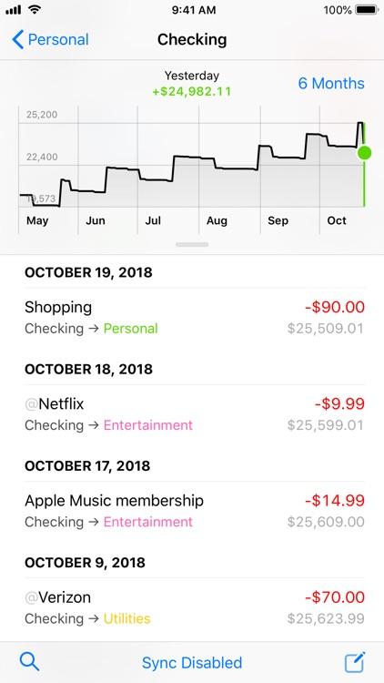 Finances 2 screenshot-3