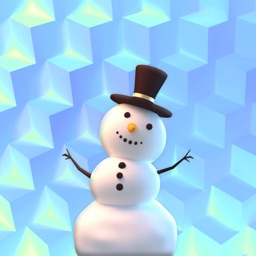 Snowman! Cute 3D Emoji Stickers for iMessage