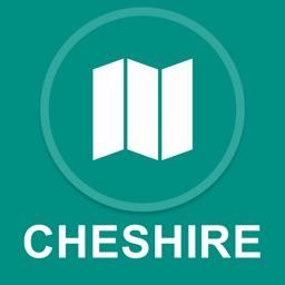 Cheshire, UK : Offline GPS Navigation