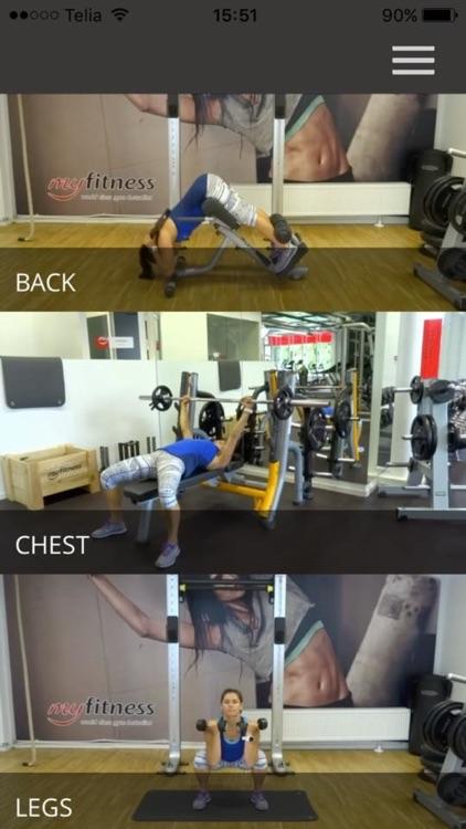 Gym Exercises Training Butt Leg Fitness Workout