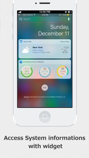 SYSTEM UTIL Dashboard Screenshot