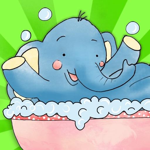 Elephants Bath
