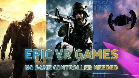 VR GAMES FREE – For Oculus, Vive, Google Cardboard