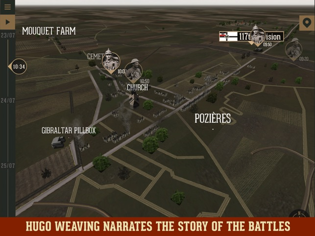 WW1:Fromelles and Pozieres on the App Store