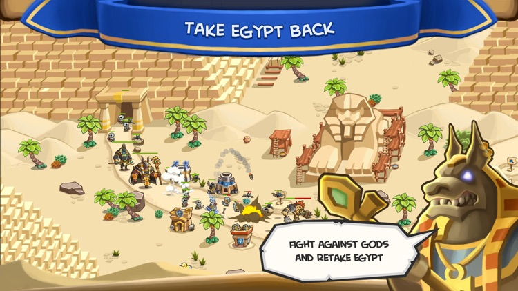 Empires of Sand TD - Egypt War screenshot-3