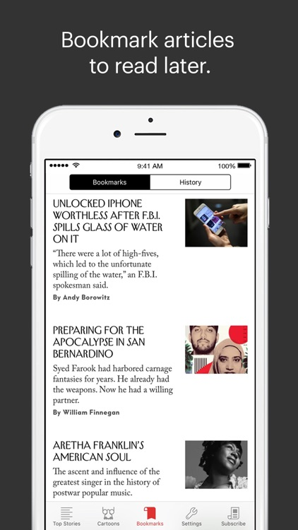 The New Yorker Today app image