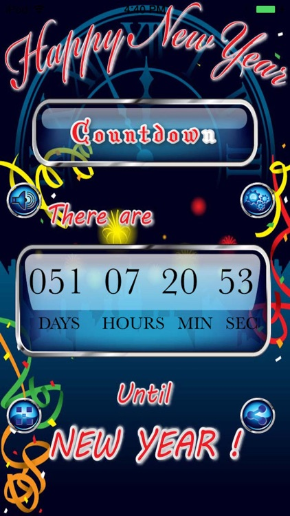 Happy New Year Countdown Begins Pro screenshot-1