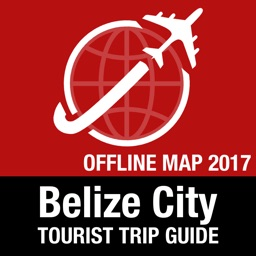 Belize City Tourist Guide + Offline Map