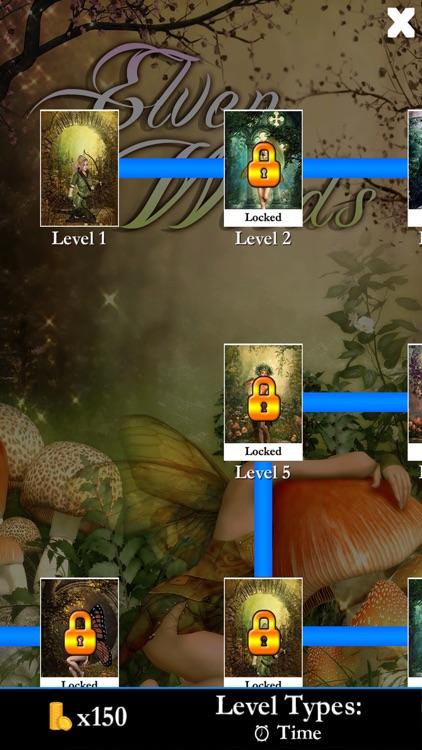 Hidden Solitaire - Elven Woods screenshot-3