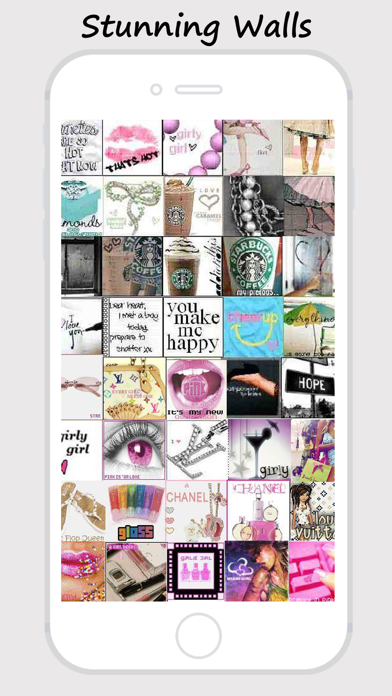 Girly Walls Cute Girl Image For Home Lock Screen By Pastime Gaming Ios United States Searchman App Data Information