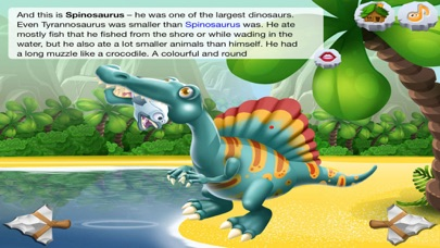 DinoClub. World of Dinosaurs screenshot two